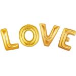 """LOVE"" - zlatni folija natpis"