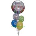 Helijski buket 009 - 1. rođendan