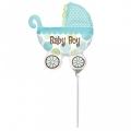 BABY BUGGY BOY - folija balon na štapiću