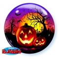 Haunted Halloween Jack - bubble balon