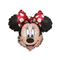 MINNIE MOUSE HEAD - folija balon na štapiću