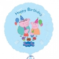 Pepa Pig Happy Birthday - folija balon