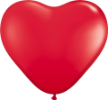 Srce lateks - 28 cm