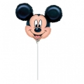 MICKEY MOUSE HEAD - folija balon na štapiću