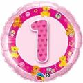 1. ROĐENDAN PINK MEDO - folija balon