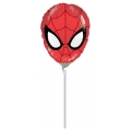 ULTIMATE SPIDERMAN HEAD - folija balon na štapiću