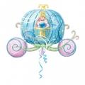 Pepeljuga u kočiji - folija balon