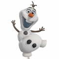 Olaf Frozen - folija balon