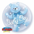 BABY BOY BLUE bubble balon