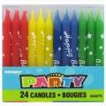 Svjećice Happy Birthday 24kom