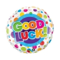 Good Luck Colorful dots - folija balon