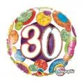 30. ROĐENDAN - folija balon