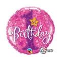 1. Rođendan Roza Zvijezda - folija balon
