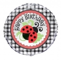 Lively Ladybugs - folija balon