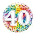 BROJ 40 - folija balon