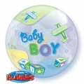 BABY BOY bubble balon