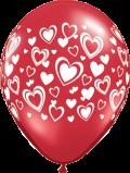 "Double Hearts - 11"""