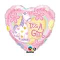 It's a Girl Soft Pony - folija balon