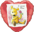"""I Love You - Single Rose 18"""""""