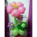 Žabica u cvijeću