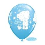Tinny Tatty Bday balon Plavi