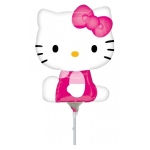 Hello Kitty folija balon na štapiću
