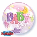 BABY GIRL bubble balon