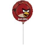 RED ANGRY BIRD - folija balon na štapiću