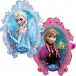 Anna & Elza Frozen - folija balon