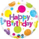 Happy Birthday Big Polka Dots