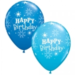 Sparkle Sretan Rođendan - lateks balon