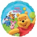Winnie the Pooh Birthday - folija balon
