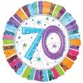 RADIANT 70. ROĐENDAN folija balon