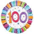 RADIANT 100. ROĐENDAN folija balon