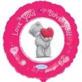 Me to You I Love You - folija balona