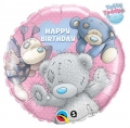 Me to you blue nose friends birthday - folija balon