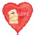 I love you !!! - cute bear