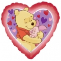 Winnie Pooh Love Hug - folija balon