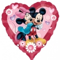 Mickey & Minnie Heart - folija balon