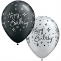 "Sretan rođendan ""Elegant"" - lateks balon"