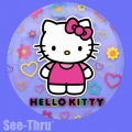 Hello Kitty - Prozirni Balon