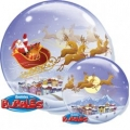 Santa Claus bubble balon