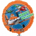 Planes Happy Birthday - folija balon