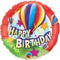 Happy BDay Hot Air Balloon