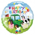Birthday Barnyard - folija balon