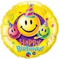 Happy Birthday Smiley Faces