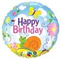 Birthday Garden - folija balon