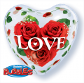 LOVE ROSES - bubble balon