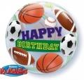 Happy Birthday Bubble balon