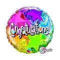Congratulations Stars Patterns - folija balon
